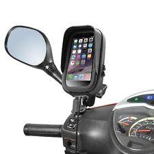 Piaggio Vespa Halterung iPhone Smartphone Tasche Blendschutz Spiegelbefestigung