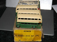 dinky 29c trade box 6 double deck bus bus's