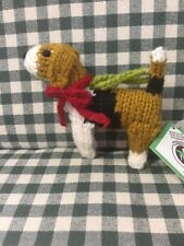 Chilly Dog Beagle Ornament  All Wool Fair Trade