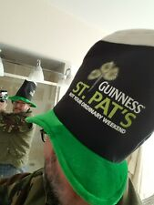 Guinness St Pat's Day hat.'Not Your Ordinary Weekend' Certainly not this year!??