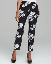 Joie: Floral Talina B Silk Pants, Best for Size 10/M