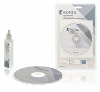 CD DVD Disc CD-ROM Player Lens Cleaner Cleaning Kit Wet And Dry 20ml