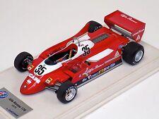 1/18 Looksmart Alfa Romeo 179 Formula 1 1979 Bruno Giacomelli #35 Alcantara base