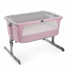 CHICCO PRINCESS SPECIAL EDITION NEXT 2 ME HEIGHT ADJUSTABLE SIDE SLEEPING CRIB