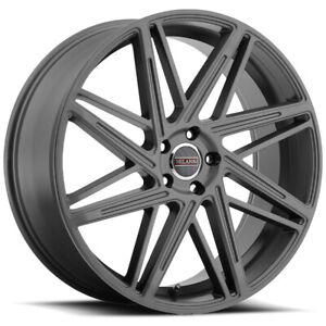 """Milanni 9062 Blitz 22x9 5x120 +35mm Gunmetal Wheel Rim 22"""" Inch"""