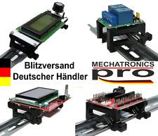 DIN Rail Halter Hutschiene Relais Display Platinen Arduino Raspberry 3D Drucker