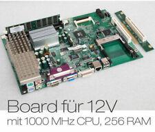 Petit Carte Mère 1 Ghz CPU Calme Passif Refroidisseur +256mb Ram pour Kfz Bateau