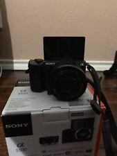 Sony Alpha A5100 24.3MP Digital Camera With 3 Batteries, Tripod, Case, Bag