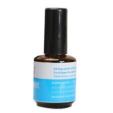 New UV Topcoat Top Coat Seal Glue Acrylic Nail Art Gel Polish Gloss