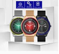 Bluetooth Smart Watch Camera GSM SIM TF Card Phone Mate Music Player Pedometer