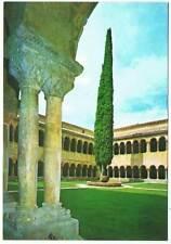 Postal de la Abadía de Santo Domingo de Silos, Burgos. Claustro Románico Siglo X