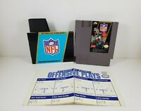NFL Football Nintendo Entertainment System Manual Sleeve Tested and Works