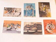 6 x art postcards - GRAHAM SUTHERLAND