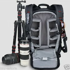 Multifunctional Deluxe Camera Backpack Pro Bag Case for Canon Nikon Sony DSLR