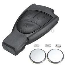 3 Button Remote Key Fob Case Shell For Benz Mercedes E S C Class CLK ML CL SLK