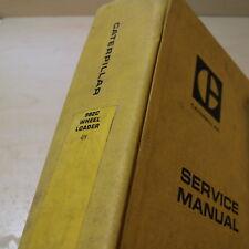 Cat Caterpillar 992c Front End Wheel Loader Repair Shop Service Manual Owner Oem