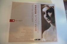 NORMA - BELLINI COFFRET 3 CD DIGIPACK.MARIA CALLAS.FILIPPESCHI STIGNANI CAROLI..