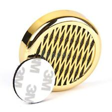 Gold Round Tobacco Cigar Humidifier w/ Sticker for Travel Case/Small Humidor