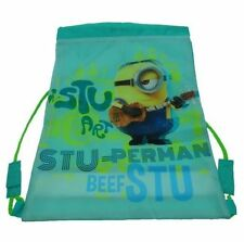 Minions Gym Bag Licensed Product PE Boys Girls School Minion Fan