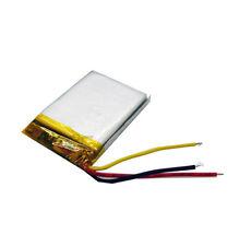 3.7V 600 mAh Li-polymer Rechargeable battery Li-ion 3-wire 503040 for MP5 GPS