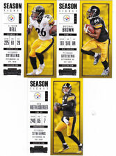 2017 STEELERS 30 Card Lot w/ CONTENDERS Team Set 20 CURRENT Players (3) '17 RC