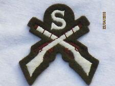 No. 2 Dress Abz. SNIPER, Rifle Marksman, Skill-at-arms, gekreuzte Gewehre & S