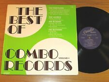"""DOO WOP GROUP LP - VARIOUS ARTISTS - COMBO 1002 -""""THE BEST OF COMBO RECORDS"""""""