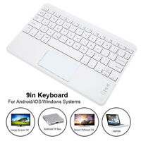 """9"""" Ultra-Thin Wireless Bluetooth3.0 Keyboard Touchpad for Android Windows iOS"""