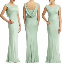 Ghost Hollywood Salma Dress, Dusty Green Large (14) Bridesmaid Evening Long New