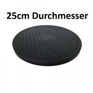 Drehteller 25cm Durchmesser Drehschreibe Platte für TV, Haushaltgeräte u.mehr
