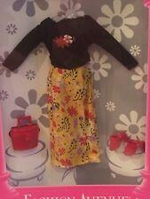 Mattel Fashion Avenue Teen Skipper Top And Long Flower Skirt No.18379
