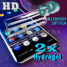 2x  6D Samsung Galaxy S7 edge Hydrogel Schutzfolie PET Folie  3D Panzer H9 Glas