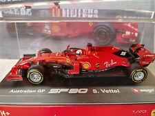 """1/43 Ferrari SF90 Sebastian Vettel Australian GP by Bburago """"Signature series"""""""