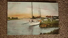OLD BRITISH POSTCARD c1900, VIEW OF THE ST OLAVES BRIDGE ENGLAND