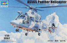 Trumpeter 1:35 AS565 Panther Helicopter Plastic Model Kit TSM5108