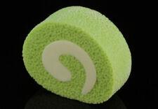 IWAKO Dessert 1 Small Green Tea Roll Cake Take-Apart Rubber Eraser Made in Japan