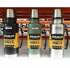 Stanley Classic 1.9L Stainless Steel Thermos Flask Vacuum Insulated Bottle SILVR