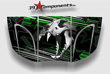 Arctic Cat Prowler 550, 650, 700, 2005-2009 Graphic Decal Sticker Skull Hood GRN