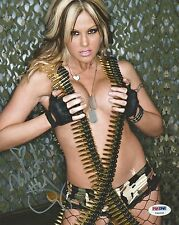 Velvet Sky Signed 8x10 Photo PSA/DNA COA TNA Knockouts Impact Wrestling Auto'd 4