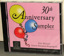 Reference Recordings CD RR-908: 30th Anniversary Sampler - 2006 USA SEALED
