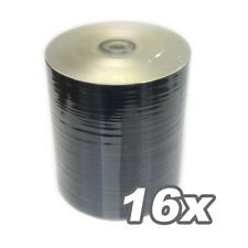 200 PCS DVD-R 16x SILVER SHINY No stacking ring top  Blank Media for Duplication