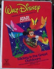 Mickey in the Great Outdoors 800/XL/XE Atari New Disk