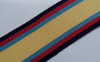 Iraq Op Granby Full Size Medal Ribbon, Army, Military, Various Lengths, Gulf War