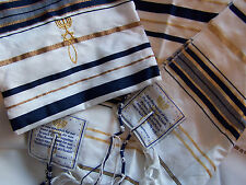 Jewish Messianic Prayer Shawls -1 Dozen includes Matching Tallit Bags &12 Shawls