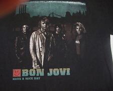 BON JOVI HAVE A NICE DAY CONCERT TOUR T SHIRT Sz Mens M Black