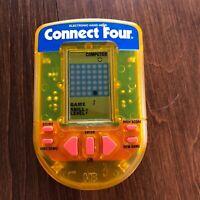 Vintage Connect Four Electronic Handheld Game 1995 Hasbro Milton Bradley Used B4