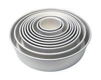 PME Round Shaped Cake Pan Baking Tin Mould Wedding Baking 3 4 Inch Deep All Size