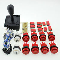 Arcade DIY KIT Parts HAPP Style Joystick + Buttons USB Control handle To PC MAME