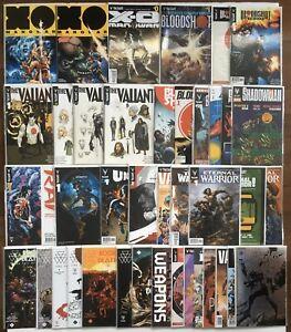 Valiant 54 Comics Lot X-O Manowar Bloodshot Rai Unity Eternal Warrior Death Set
