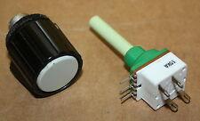 Mikroskop Ersatzteil Zeiss Jena 2-stufiger Potentiometer mit Spannzangenknopf